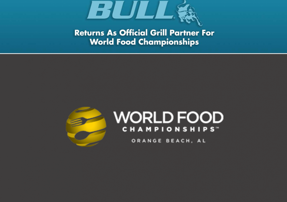 Bull Outdoor Products Returns As Official Grill Partner For World Food Championships europe, bbq europe, bull bbq europe