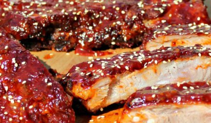East Meets West Barbecue: Gochugaru Spare Ribs europe, bbq europe, bull bbq europe